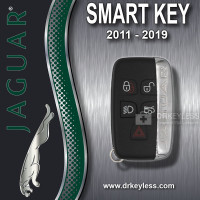REFURBISHED<br>Jaguar<br>Smart Key 5B<br>KOBJTF10A<br>2011 - 2019