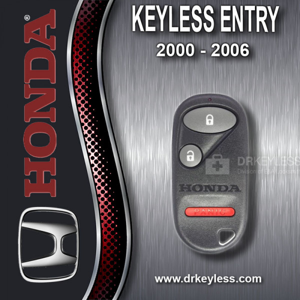Honda Insight Keyless Entry Remote 3B / E4EG8DJ / 2000 - 2006