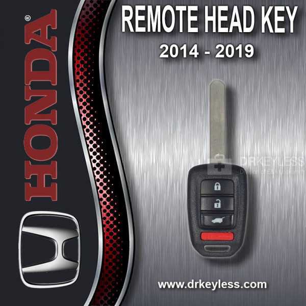 Honda Remote Head Key 4B Hatch / High Security / MLBHLIK6-1T / 2014 - 2016